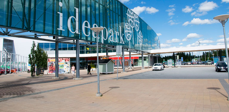 Ideapark - one stop shopping destination!